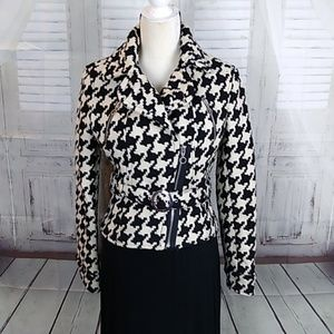 Express Hounds Tooth Jacket